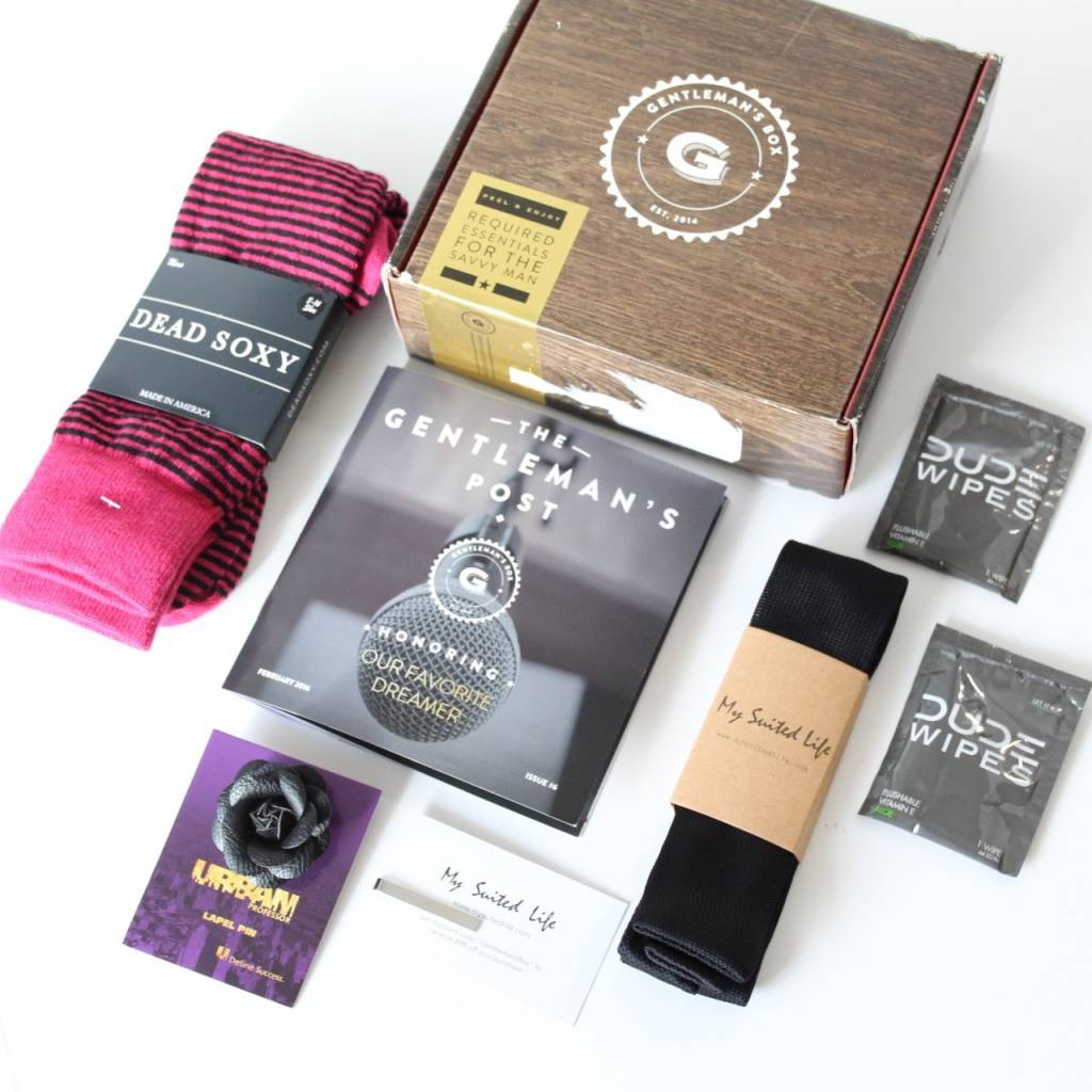Gentleman's Box February 2016 5