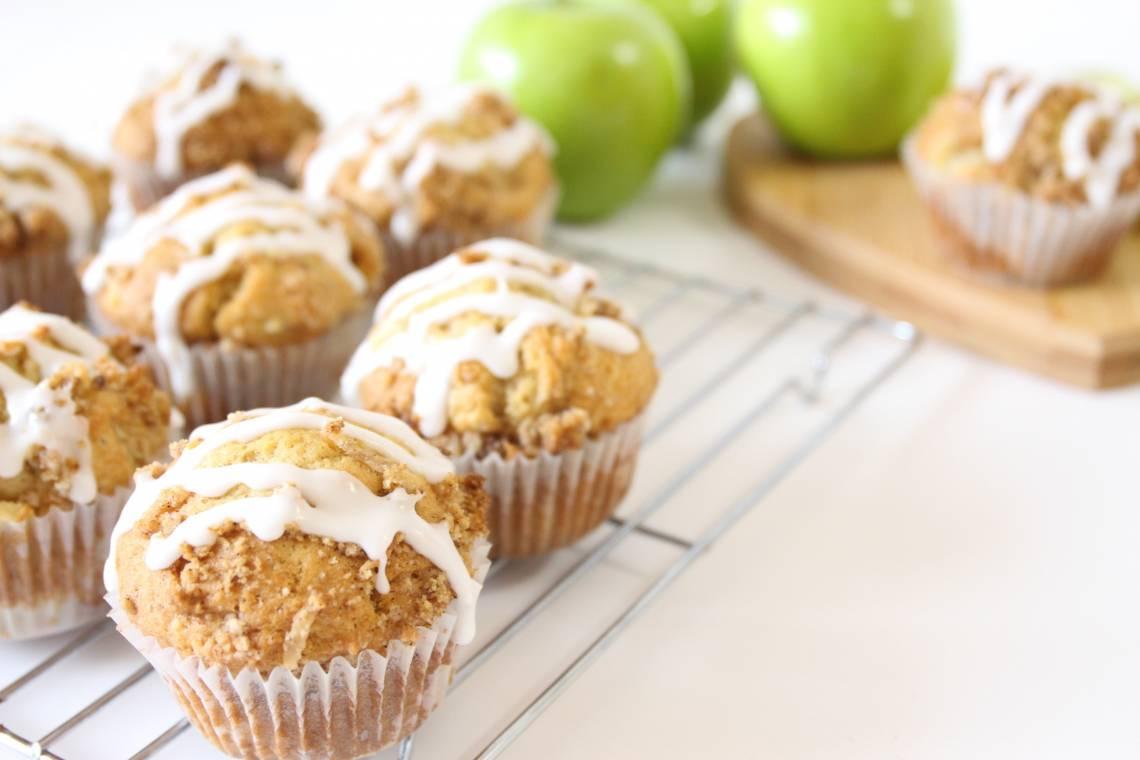 Spiced Apple Muffins - RawSpceBar 5