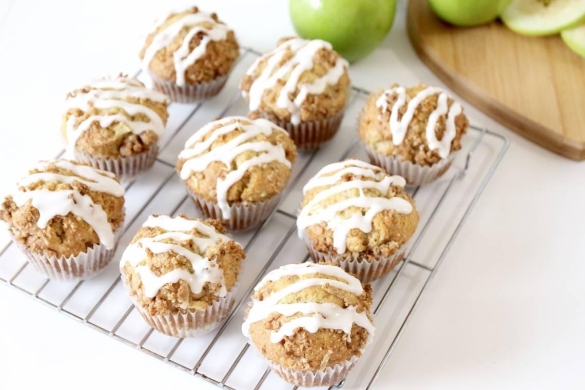 Spiced Apple Muffins - RawSpceBar 1