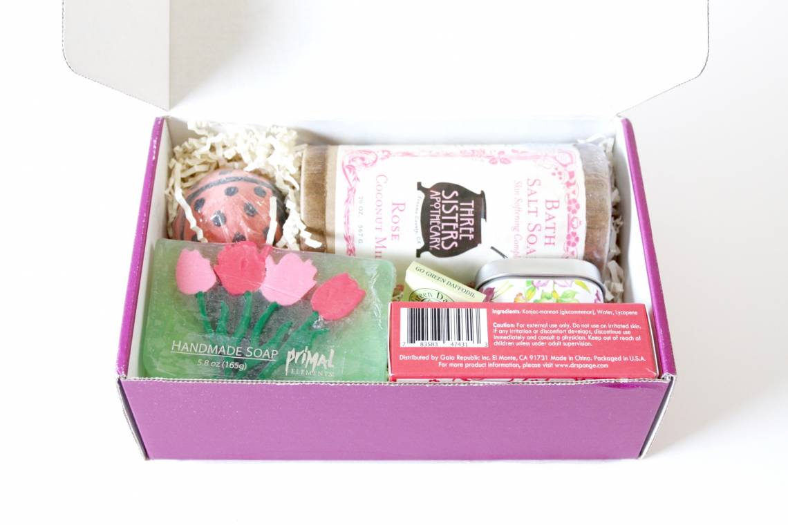 Lavish Bath Box MAY 2016 3